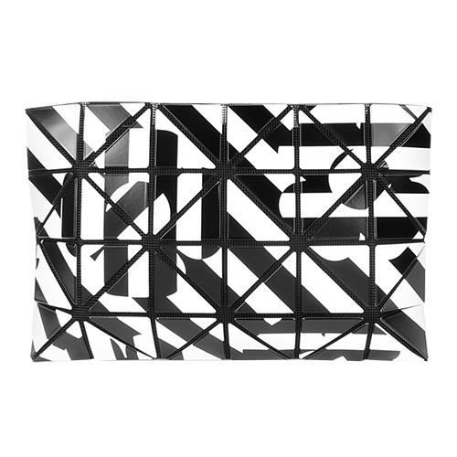 ISSEY MIYAKE 三宅一生 BAOBAO 4x6花朵錯視幾何狂想手拿包(黑白)
