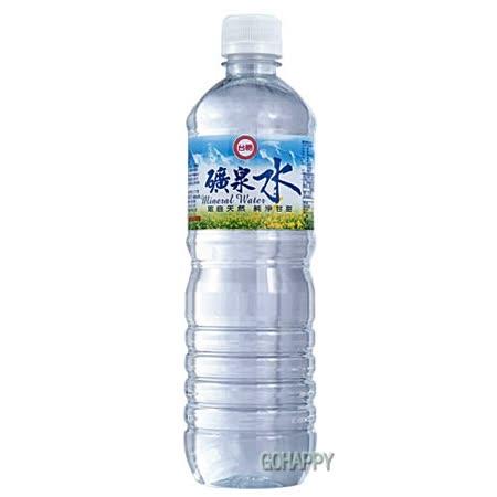 台糖 礦泉水4箱 (600ml/24瓶)