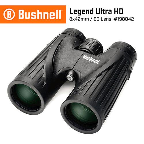 美國 Bushnell 倍視能 Legend Ultra HD 傳奇系列 8x42mm ED螢石專業級賞鳥雙筒望遠鏡 198042 (公司貨)