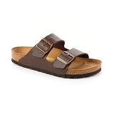 勃肯BIRKENSTOCK 051701。ARIZONA亞利桑那 經典二條拖鞋(咖啡色)