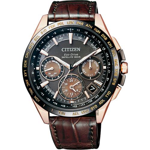 CITIZEN Eco-Drive 鈦 光動能GPS衛星對時錶-43mm CC9016-01E