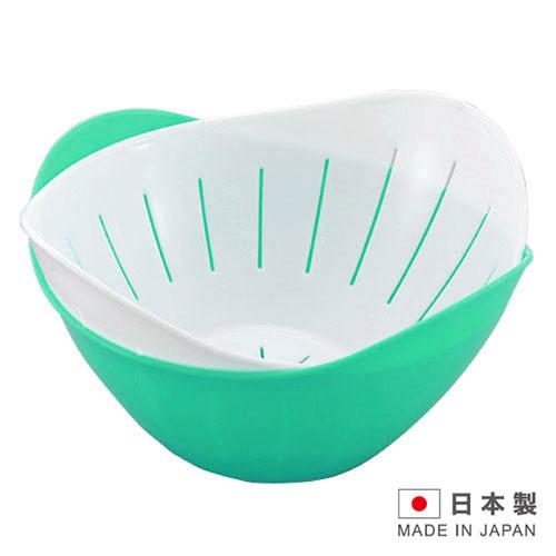 HANAGATA 花型瀝水置物籃組840ml~D5337   顏色 出貨