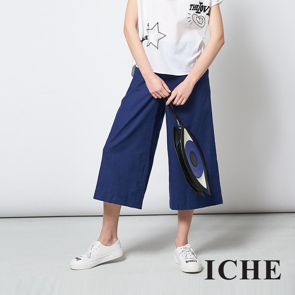 ICHE 衣哲 百搭俐落時尚感UP造型寬褲