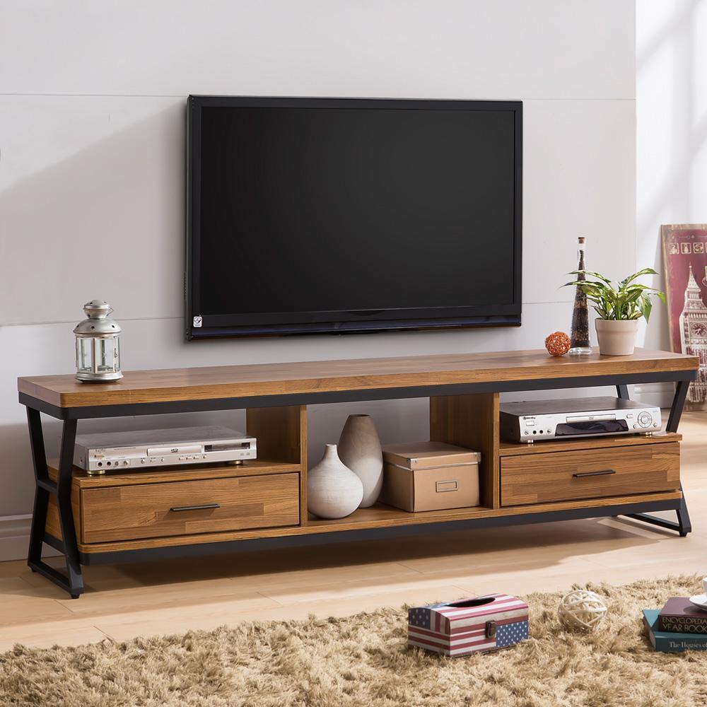 ~Homelike~登貝工業風6尺電視櫃