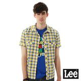 Lee 格紋短袖襯衫