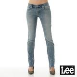 Lee 牛仔褲406 低腰合身直筒褲-女款-淺漂藍