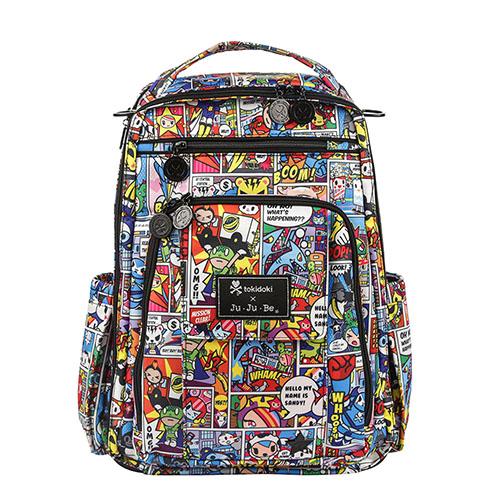 【美國Ju-Ju-Be媽媽包】tokidoki聯名款-BeRightBack後背包:Super Toki 超級英雄