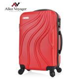 【法國 奧莉薇閣】行雲流水20吋輕量ABS登機箱/行李箱(聖誕紅)