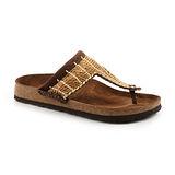 勃肯Betula 768053。GNANA 草編夾腳拖鞋(天然麻編織)