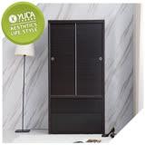 YUDA-美化 3*6尺 A+木心板 推門/拉門+雙抽屜 衣櫥/衣櫃 新竹以北免運費