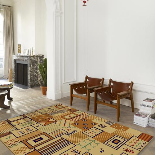 范登伯格 瑪雅克異國風情埃及進口地毯-希臘-150x220cm