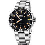 Oris Aquis 時間之海專業潛水機械腕錶 0173376534159-0782601PEB