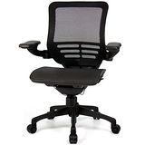 aaronation 愛倫國度 - 線控底盤人體工學椅JQ-D5B-黑網-尼龍腳