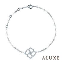A-LUXE 亞立詩 18K金鑽石手鍊