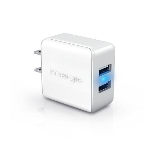 【Innergie台達電】PowerJoy Plus 15瓦雙USB快速充電器