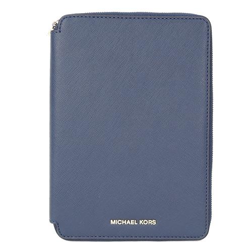 MICHAEL KORS Electronics IPad Mini保護套(深藍/8卡)