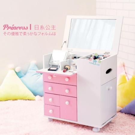 馬卡龍系列 日系公主化妝車