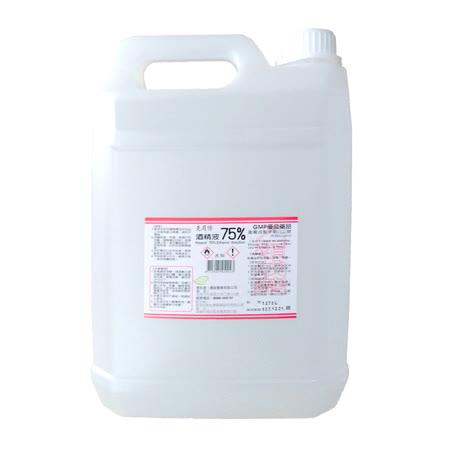 【克司博】75%酒精液 4公升X6入(乙類成藥)