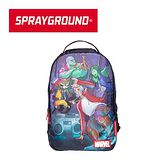 【SPRAYGROUND】DLX MARVEL 聯名系列 Guardians of the Galaxy Breakdancers 星際異攻隊跳街舞潮流筆電後背包