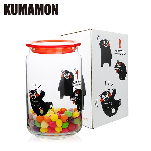 ~KUMAMON熊本熊~儲物罐750ML