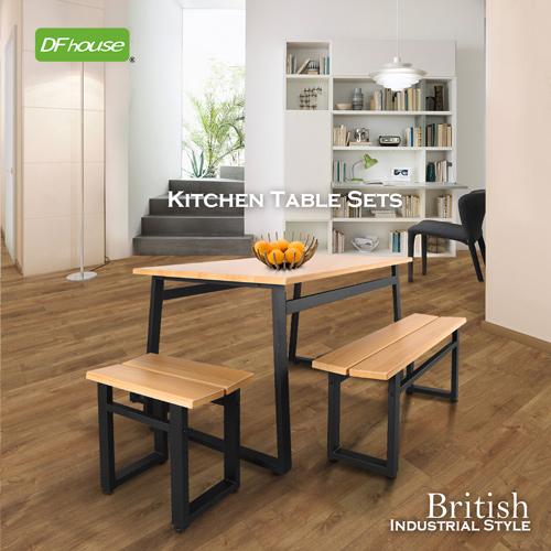 ~DFhouse~英式工業風~餐桌 雙人餐椅 單人餐椅