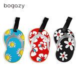 【Bogazy】拖鞋造型行李吊牌(拖鞋系列)