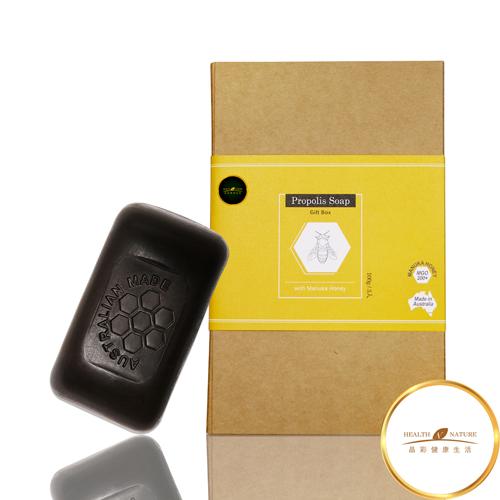 【Health Nature】麥盧卡蜂蜜蜂膠皂禮盒(100g*3入/盒)
