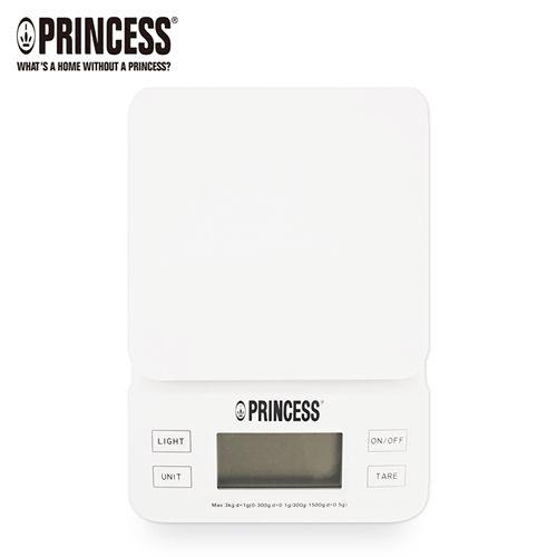 《PRINCESS》荷蘭公主觸控電子料理秤-白 (ES31W)