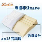 LooCa特級舒鼾護肩專利記憶枕(2入)