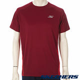 SKECHERS 男短袖衣 - GMPTS239RED
