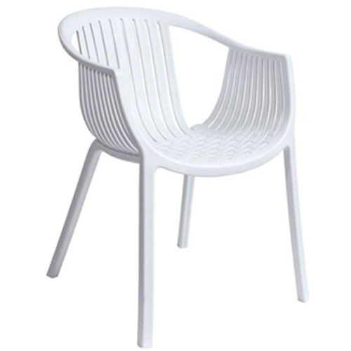 諾雅造型扶手椅-淨白(61*55*76cm)