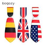 【Bogazy】領帶造型行李吊牌(國旗系列)