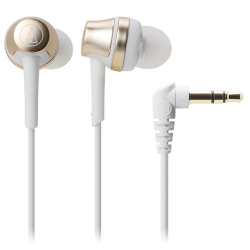 鐵三角入耳式耳機ATH-CKR50香檳金