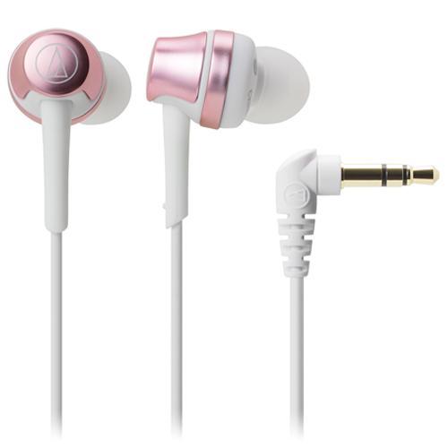 鐵三角入耳式耳機ATH-CKR50粉紅