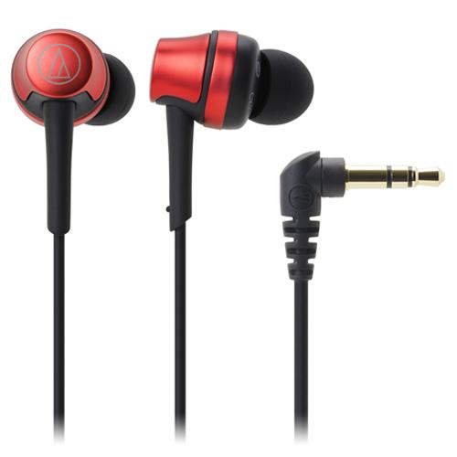 鐵三角入耳式耳機ATH-CKR50紅