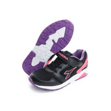 DIADORA 童鞋 慢跑鞋 黑紫 - DA7AKC3962
