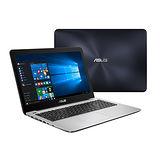 ASUS華碩 X556UR-0021B6200U 15吋FHD/i5-6200U/1TB/GT930MX 2G獨顯/Win10筆電(藍)-送4G記憶體+羅技無線滑鼠+32G隨身碟