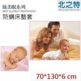 【北之特】防螨寢具 床套 E2絲柔眠 嬰兒 (70*130*6)