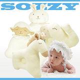 【SOZZY】兒童有機彩棉動物定型嬰兒枕/3款(B0118)