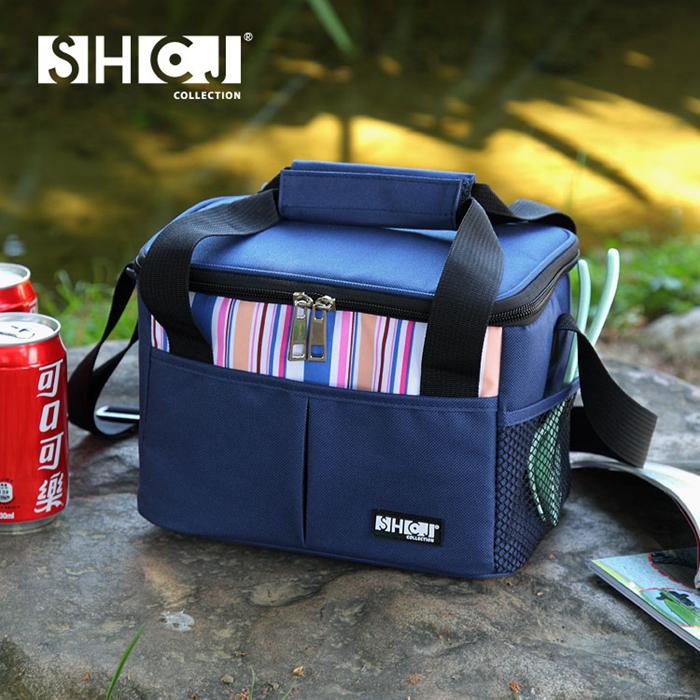 【SHCJ生活采家】戶外野營5L肩背手提方型保溫袋(小)#52002