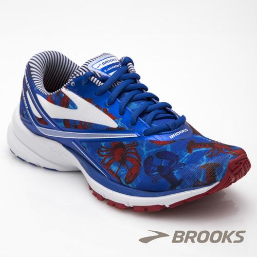 BROOKS 女 LAUNCH 4 波士頓馬拉松限定款-龍蝦(1202341B414)