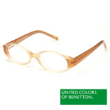 BENETTON 班尼頓 專業兒童眼鏡漸層透色感設計系列(藍/橘 BB015-02/03)