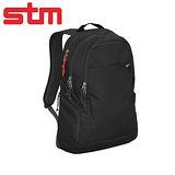 澳洲STM Haven 15吋質感優異商務通勤背包 - 黑色