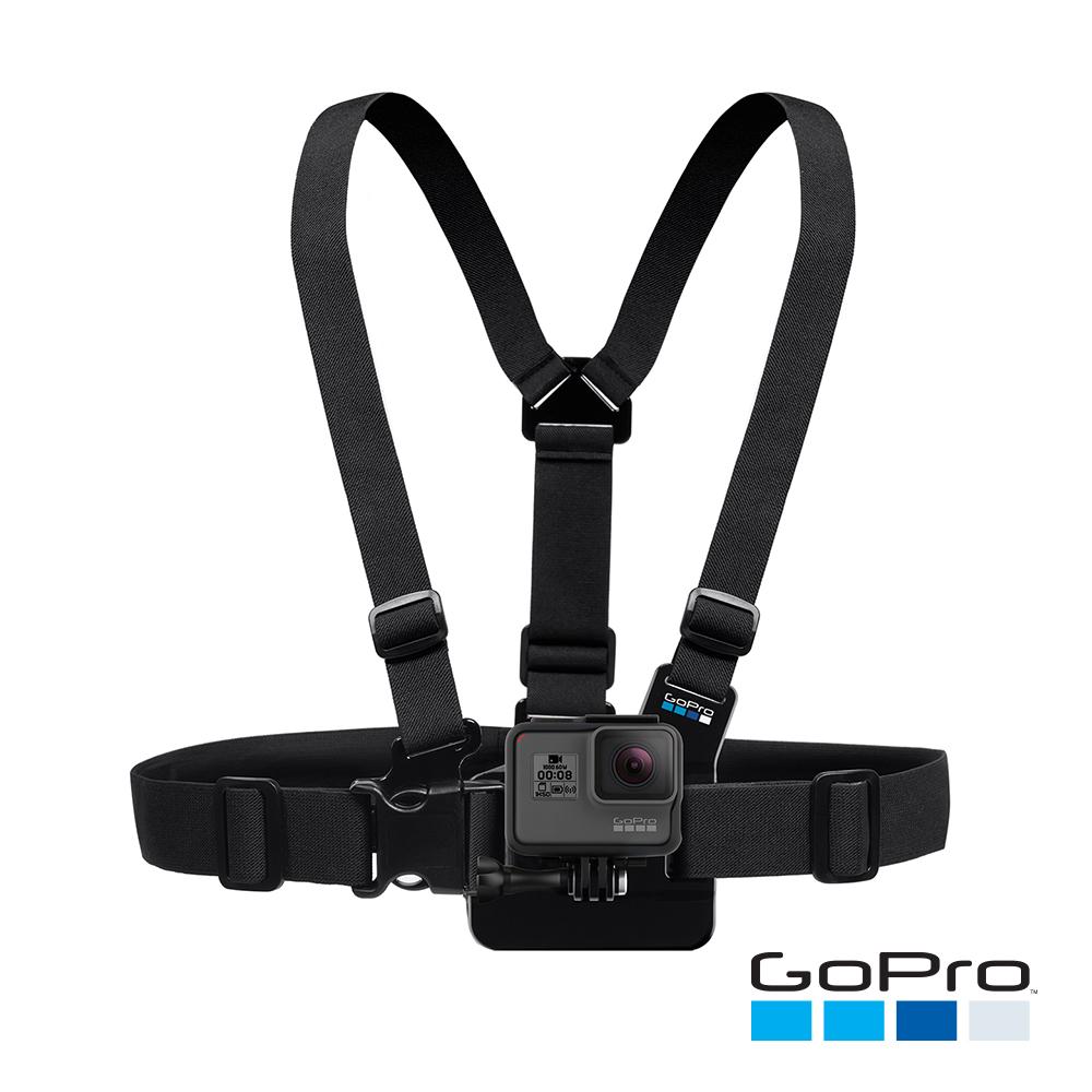 【GoPro】胸前綁帶 GCHM30-001 (忠欣公司貨)