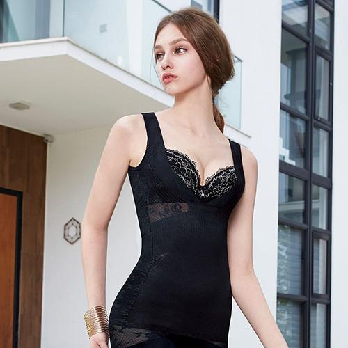 曼黛瑪璉  美型顯瘦 寬肩帶V領背心