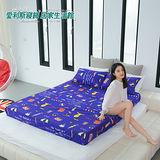 CIAO 愛利斯【時尚夏戀】單人 春夏專用 品味生活 薄床包枕套二件組