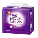 【五月花】極柔頂級抽取衛生紙(110抽x12包x6串)/箱