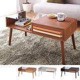 Peachy life 日系簡約配色款強化玻璃茶几桌/餐桌(3色可選)