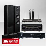 【金嗓】Golden Voice 超級好聲音美聲組 (CPX-900 L1+ +S-ES3TB+KA-838+R-609) 點歌機+Pioneer喇叭揚聲器+綜合擴大機+無線麥克風