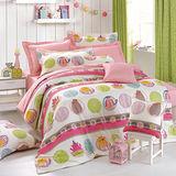 IN HOUSE-Pocket Cat-200織紗精梳棉-兩用被床包組(加大)